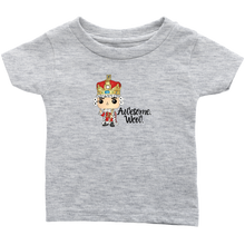 Load image into Gallery viewer, Awesome Wow Infant T-Shirt