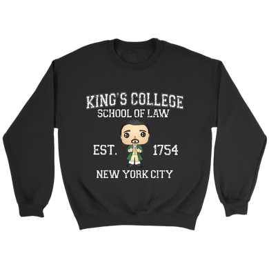 King's College Crewneck Sweatshirt