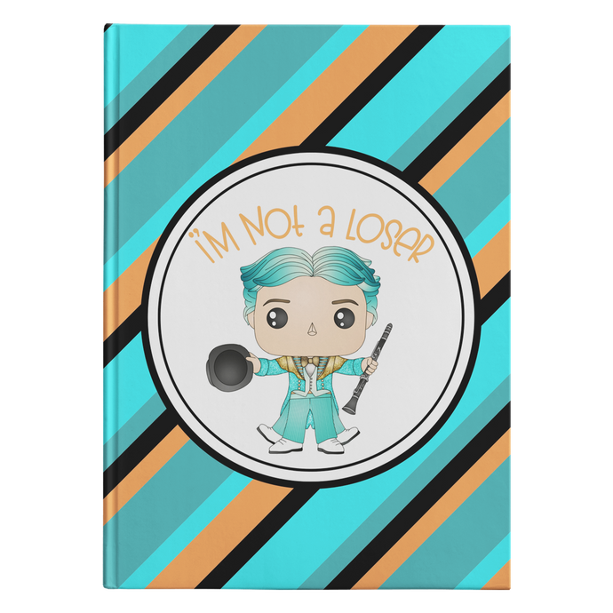 Not A Loser Hardcover Journal