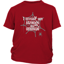 Load image into Gallery viewer, Strange & Unusual Youth T-Shirt