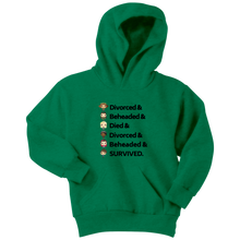 Load image into Gallery viewer, Six Queens Youth Hoodie