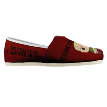 Load image into Gallery viewer, RENT Quote Canvas Shoes