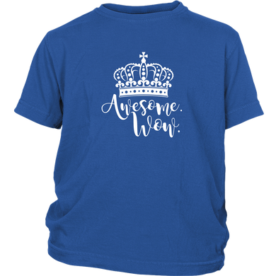 Awesome Wow Youth T-Shirt