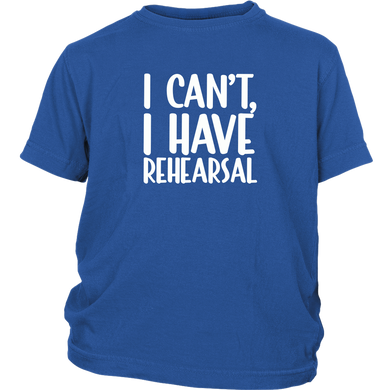 Rehearsal Youth T-Shirt