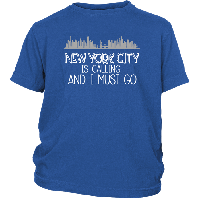 NYC is Calling Youth T-Shirt