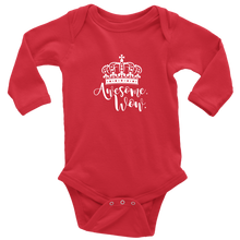 Load image into Gallery viewer, Awesome Wow Long Sleeved Infant Bodysuit
