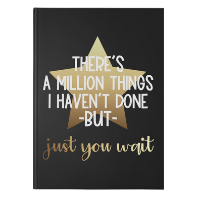 Million Things Hardcover Journal