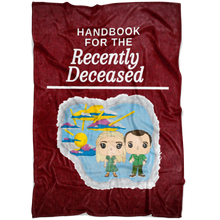 Load image into Gallery viewer, Handbook for the Recently Deceased Blanket