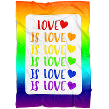 Load image into Gallery viewer, Love is Love Blanket
