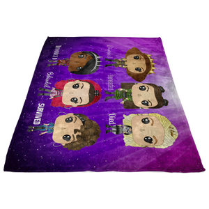 Six Queens Fleece Blanket