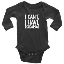 Load image into Gallery viewer, Rehearsal Long Sleeved Infant Bodysuit