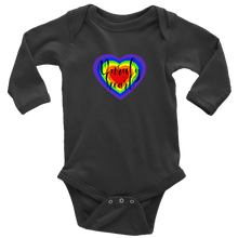 Load image into Gallery viewer, Unruly Heart Long Sleeved Infant Bodysuit