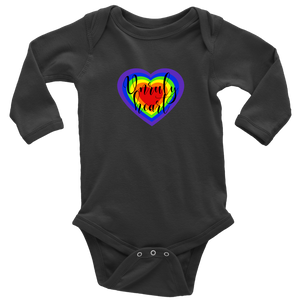 Unruly Heart Long Sleeved Infant Bodysuit