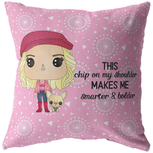 Legally Blonde Throw Pillow