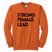 Load image into Gallery viewer, Strong Female Lead Youth Crewneck