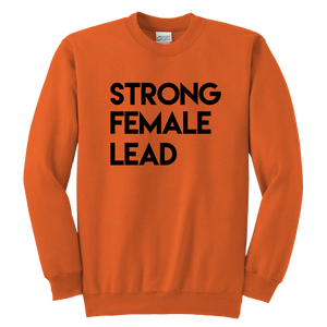 Strong Female Lead Youth Crewneck