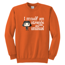 Load image into Gallery viewer, Lydia Strange & Unusual Youth Crewneck Sweatshirt