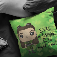 Load image into Gallery viewer, Anne Boleyn Throw Pillow