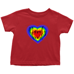 Unruly Heart Toddler T-Shirt