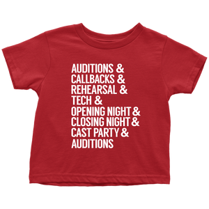 Theatre Life Toddler T-Shirt