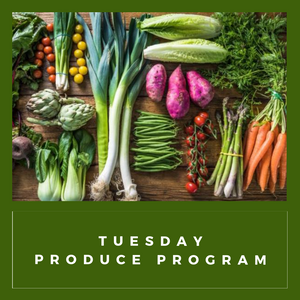 Produce Club: Tuesdays  October 20th - November 17th