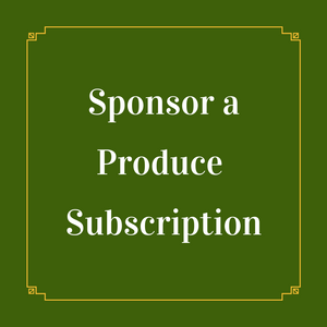 Sponsored Produce Box Subscription: Summer