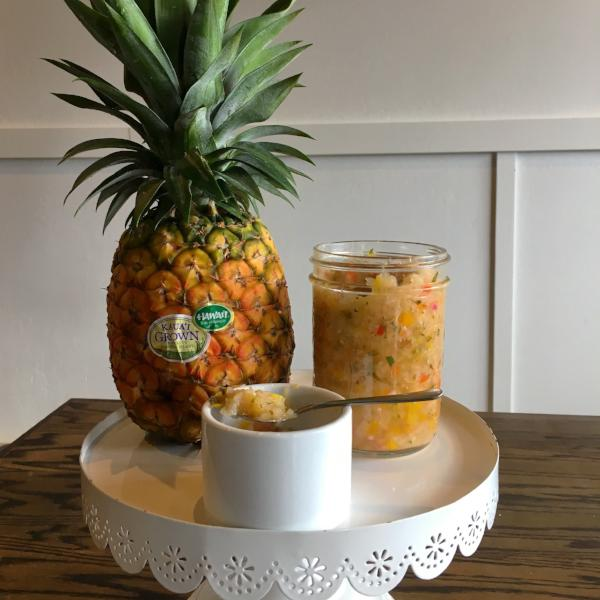 White Pineapple Salsa