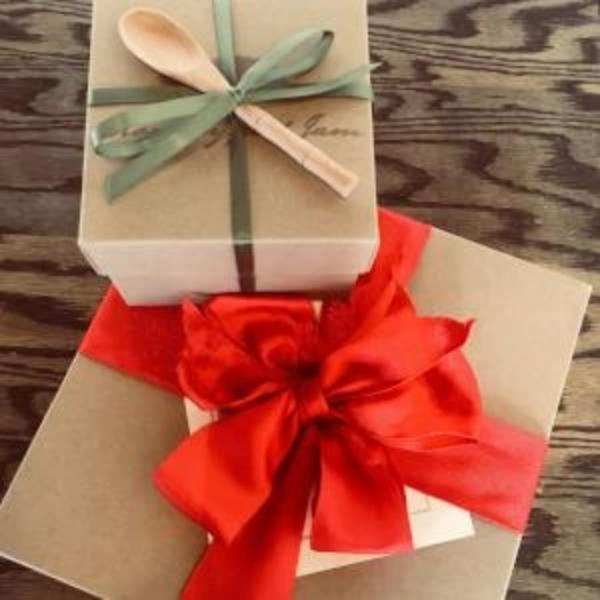 Gift Box - Natural Craft Board