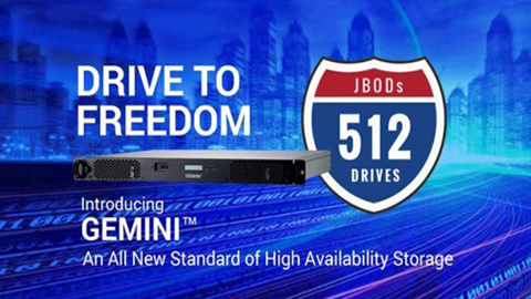 Introducing Gemini™ High Availability Storage Solution
