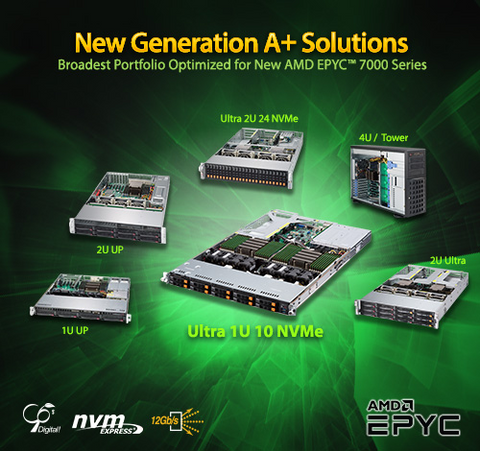 New Generation A+ Servers