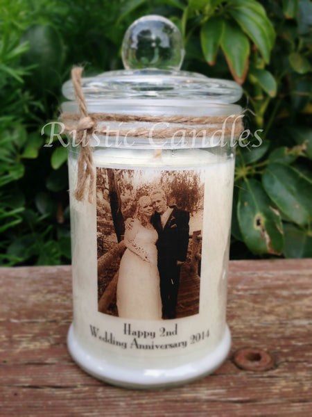 Anniversary 150ml Photo Soy Candle #2