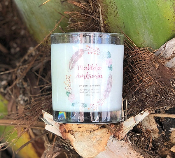 Baptism 200ml Soy Candle #13