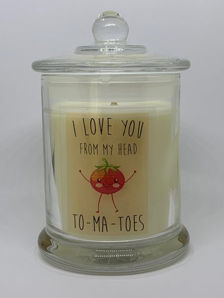 I Love you 200ml Soy Candle #1