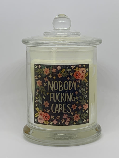 Nobody Fucking Cares 200ml Soy Candle