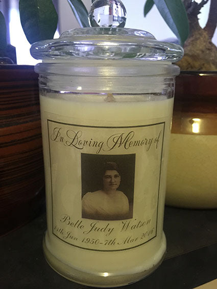 Memory Photo 350ml Soy Candle