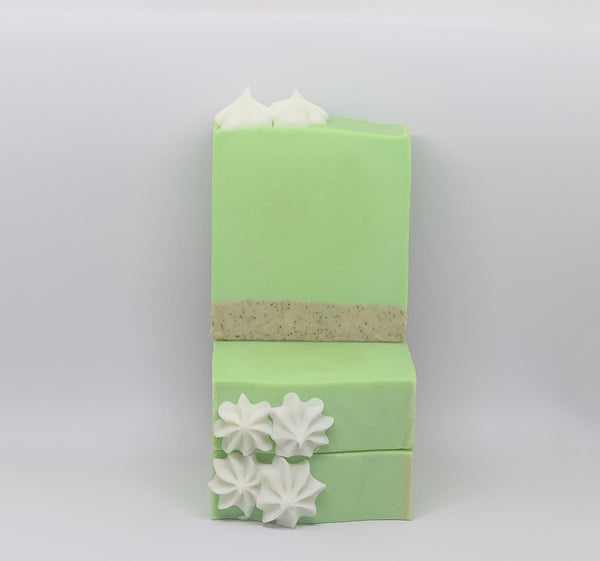 Key Lime Pie Vegan Soap