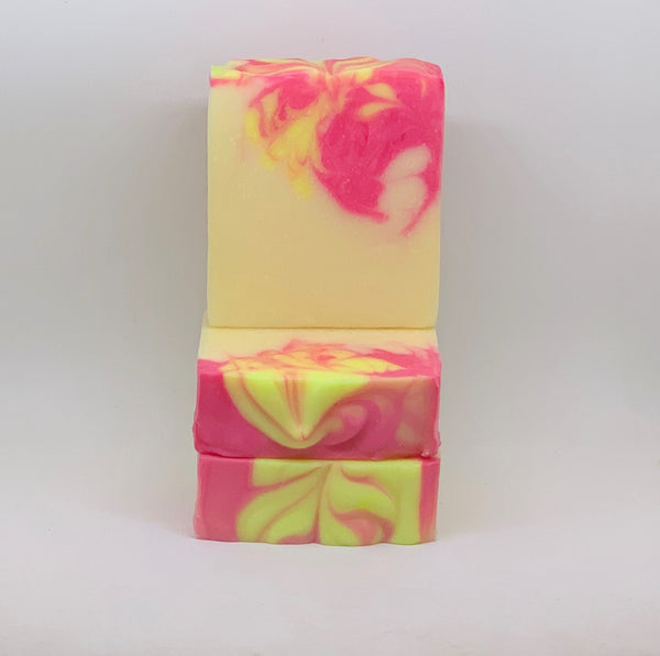 Lemon Rose Vegan Soap