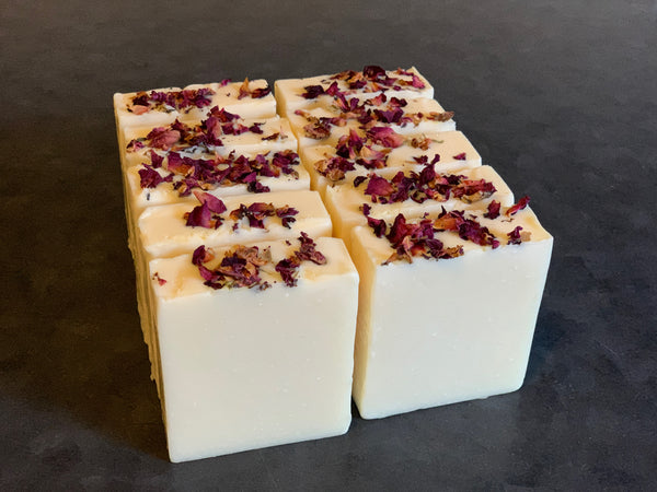 Rose Victorian Vegan Soap Loaf
