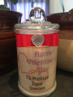 Valentines Day 150ml Soy Candle #11