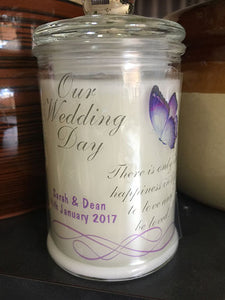 Wedding 150ml Soy Candle #19