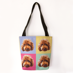 Pop Art Custom Pet Tote Bag