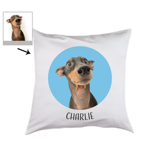 Load image into Gallery viewer, Photo Pet Cushion With Circle