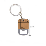 Copy of Don't Worry Beer Happy Keyring