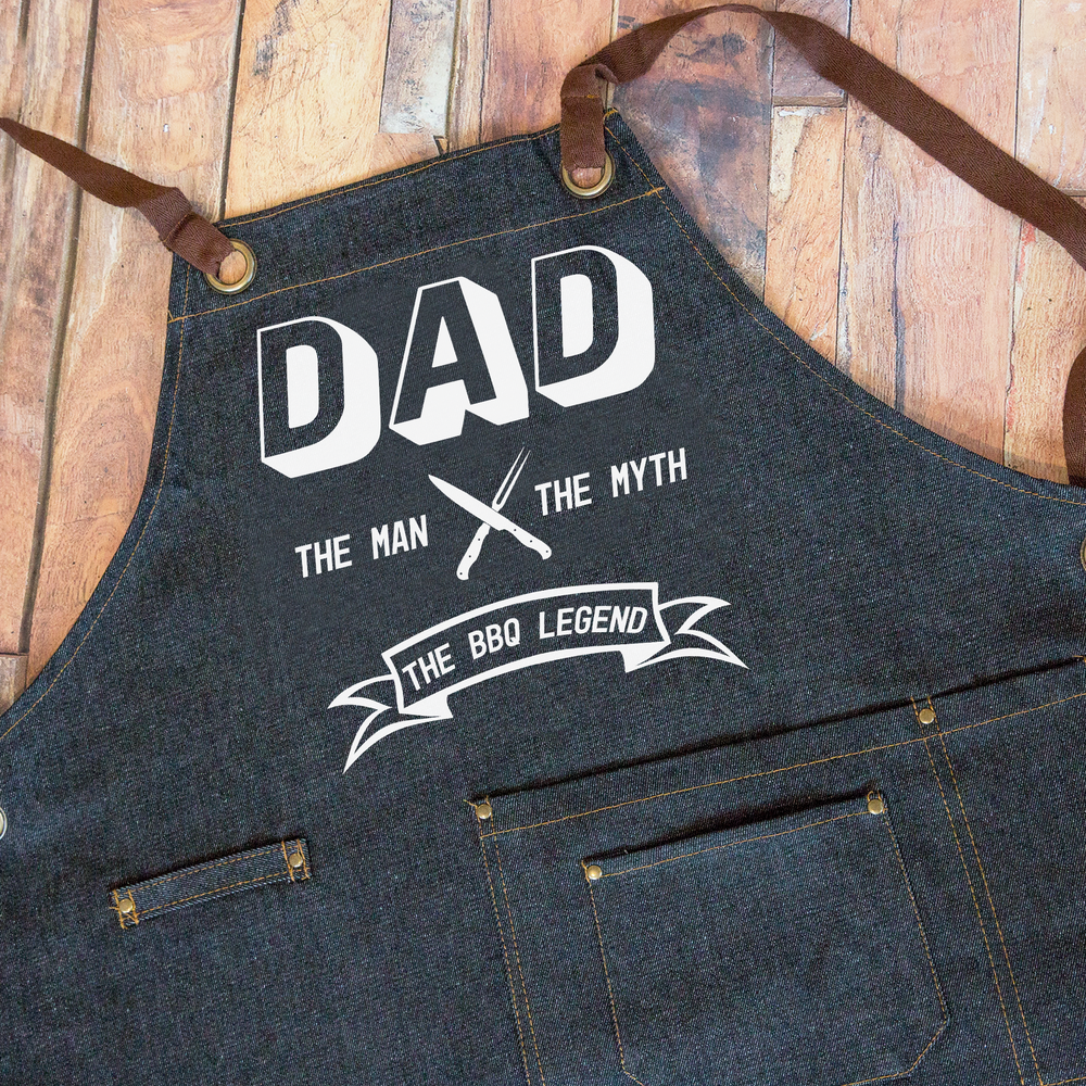 Dad Denim Apron