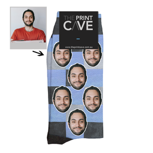 Load image into Gallery viewer, Pool Tiles Face Socks