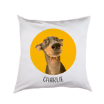 Photo Pet Cushion With Circle