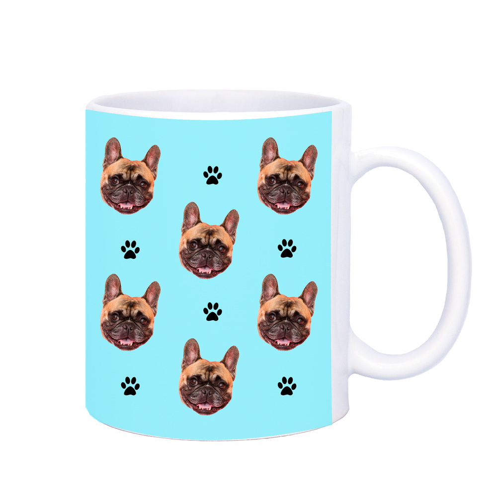 Pet Face Mug with Paw