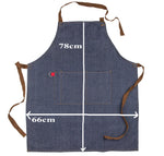 Grandpa Denim Apron