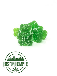 Green Line CBD Gummies - Green Apple 20mg Each