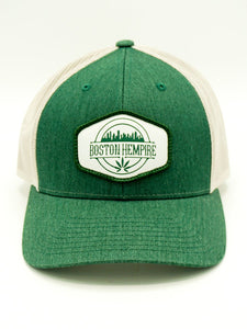 Boston Hempire Green Trucker Snapback
